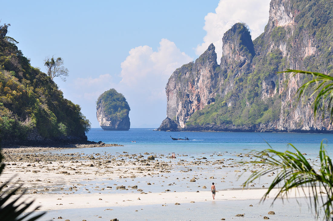 Low water on Phi Phi