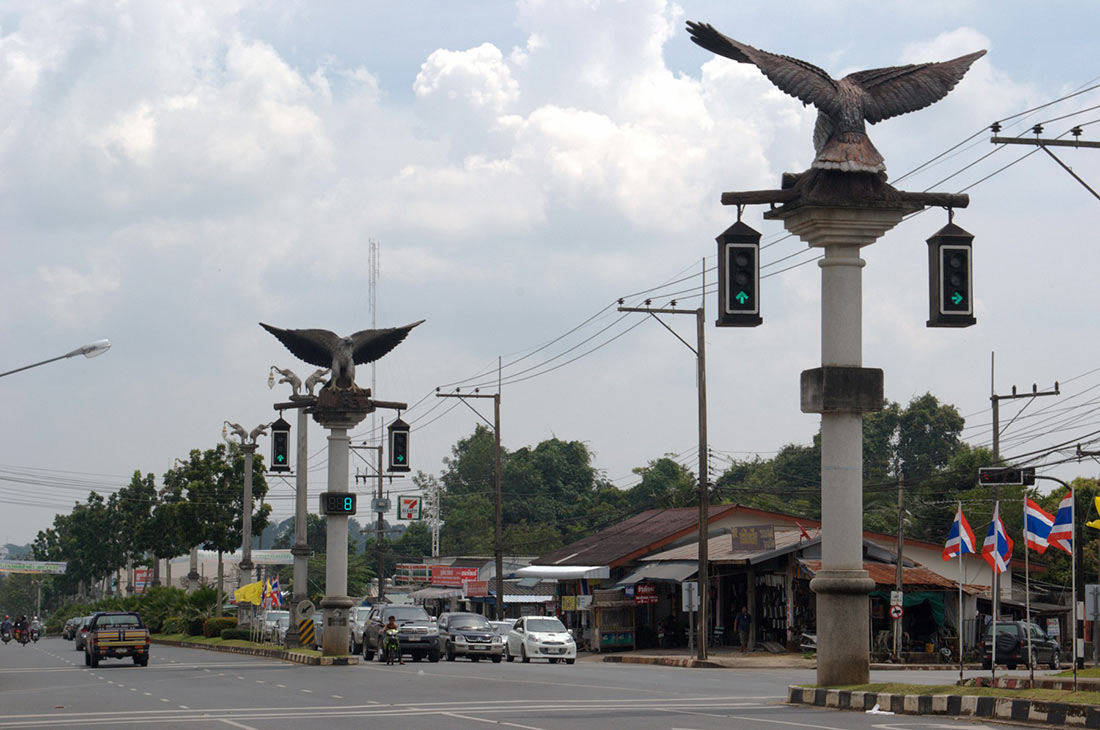 Traffic Lights in Krabi