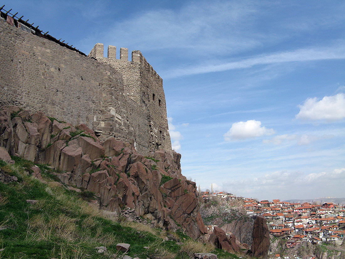 Old castle in Ankara