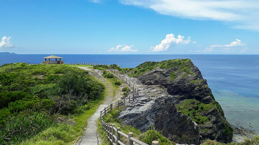 Zamami island in Okinawa
