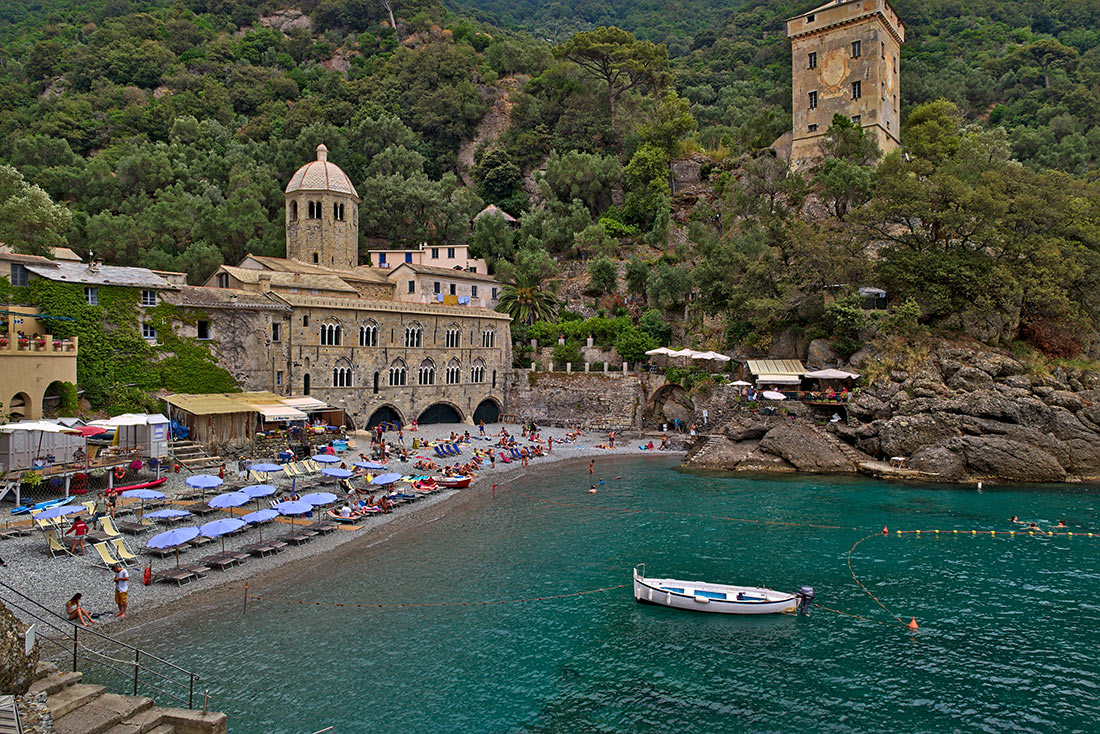 San Fruttuoso beach, Portofino