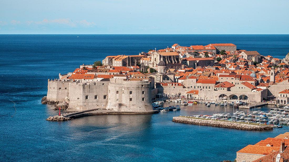 Ancient town of Croatia