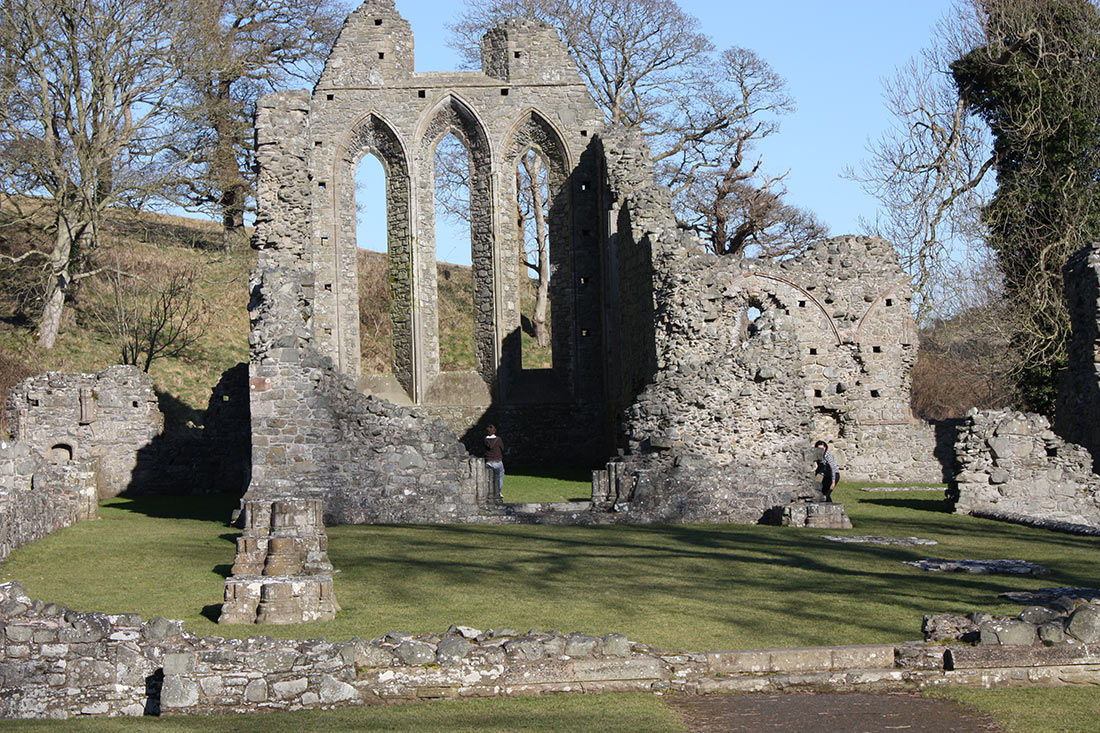 Inch Abbey in Northern Ireland