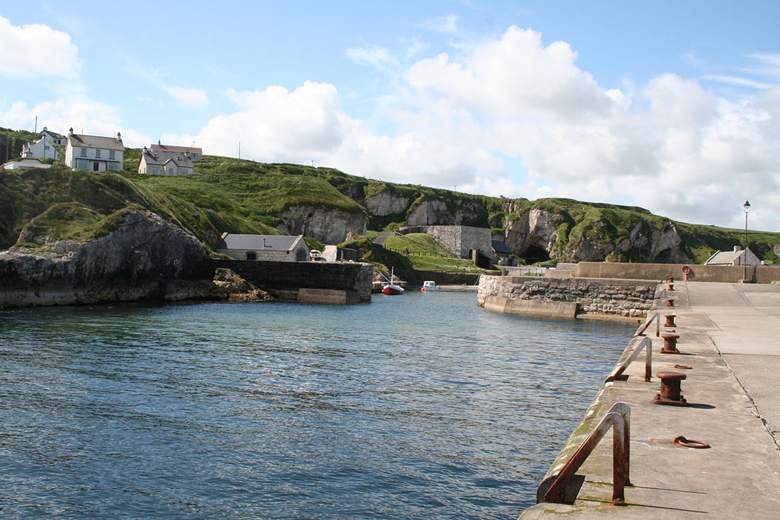 Ballintoy Harbour in Northern Ireland