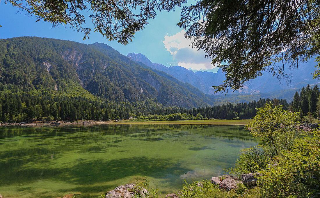 Fusine Lakes