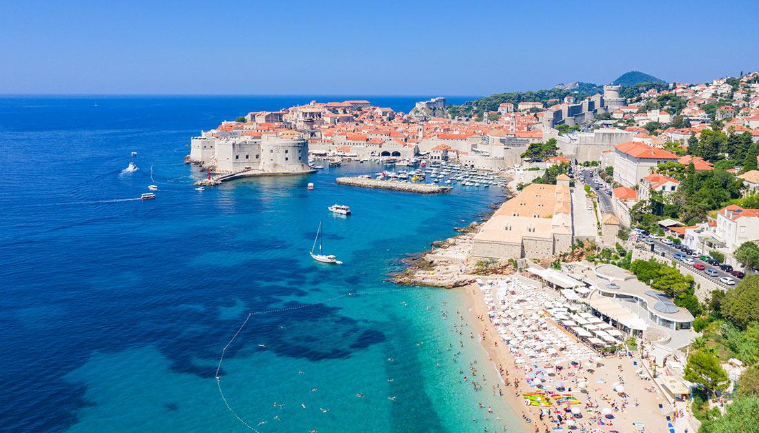 Plaža Banje in Dubrovnik
