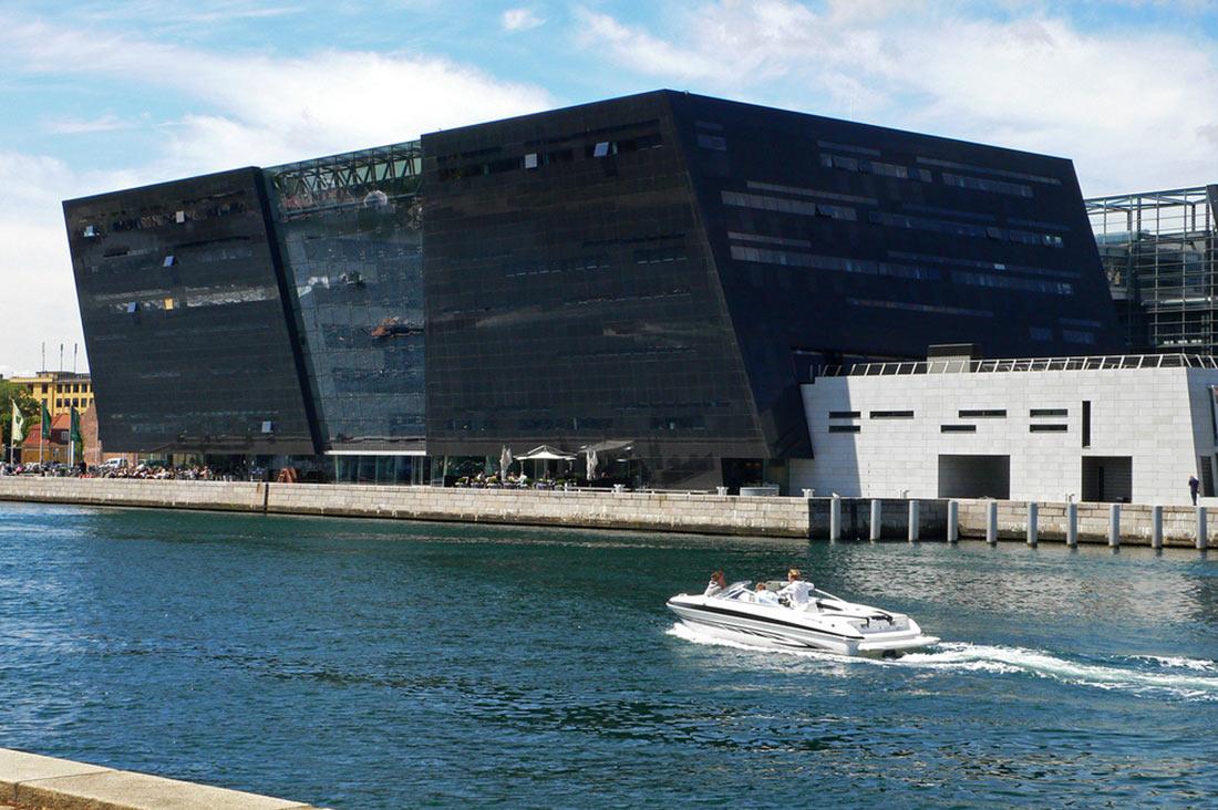 Danish Royal Library (Black Diamond) in Copenhagen